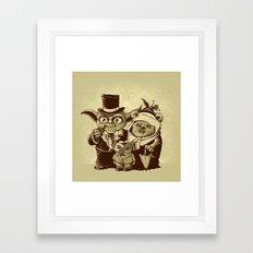 a (very) long time ago Framed Art Print