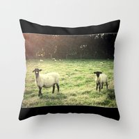 Dedicated Followers Throw Pillow