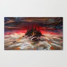 A world  reborn with Magic: Days of Dawn  Canvas Print