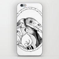 Mr. Vulture iPhone & iPod Skin