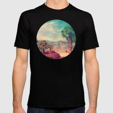 MALCESINE SMALL Black Mens Fitted Tee