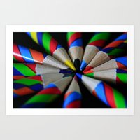Twisters Art Print