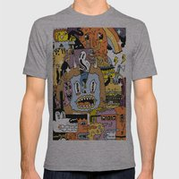 The Escape Plan Mens Fitted Tee Athletic Grey SMALL