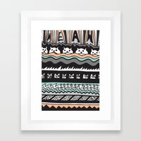 MEAW Framed Art Print