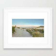 Oregon Coast Sunrise Framed Art Print