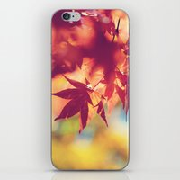 Dreaming of fall iPhone & iPod Skin