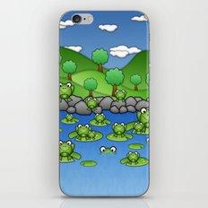 Froggies!  iPhone & iPod Skin