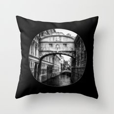 Ponte dei Sospiri | Bridge of Sighs - Venice  Throw Pillow