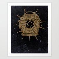 Dive Bomb. Art Print
