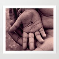 In My Hand I Hold... Art Print