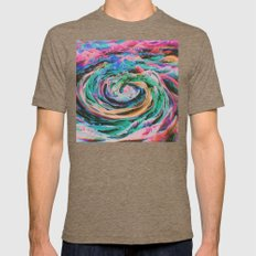 WHÙLR Mens Fitted Tee Tri-Coffee SMALL
