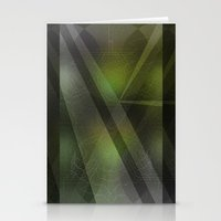 Emerald Monolith Stationery Cards