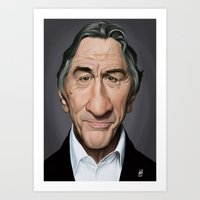 Celebrity Sunday - Robert De Niro Art Print