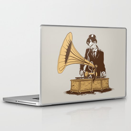 The Future In The Past Laptop & iPad Skin