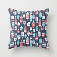 Oh Buoy! Throw Pillow