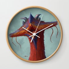Beak portrait Wall Clock