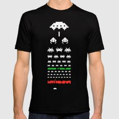 Eye Exam for Geeks Mens Fitted Tee SMALL Black
