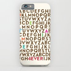 Je T'aime 4 Ever Slim Case iPhone 6s