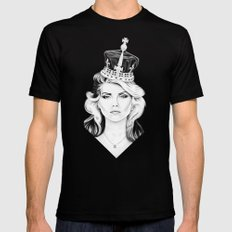 Debbie Harry SMALL Mens Fitted Tee Black