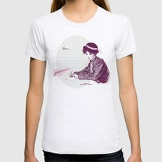 Lady Jane Womens Fitted Tee Ash Grey SMALL