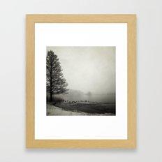 The Thaw Framed Art Print