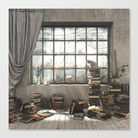 The Introvert Canvas Print