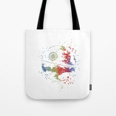 Death Star Star . Wars Tote Bag