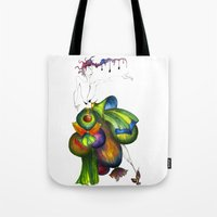 Green Aristocrats Tote Bag