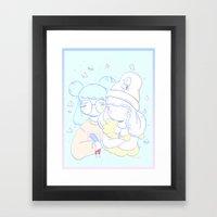 Twinkle Twinkle Hoy Framed Art Print