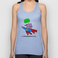 love will save the world Unisex Tank Top