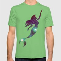 The Little Mermaid Cosmi… Mens Fitted Tee Grass SMALL