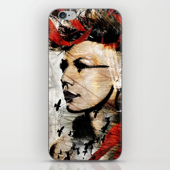 reverence iPhone & iPod Skin