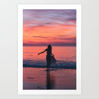 Sunrise Part 2 Art Print