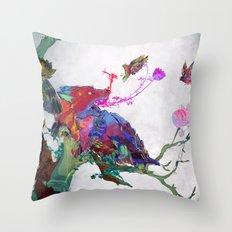 Forbidden Mystery Throw Pillow