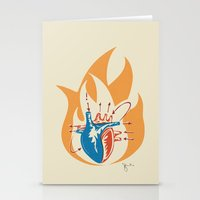 Oh little fire Stationery Cards