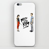 Matt and Kim iPhone & iPod Skin