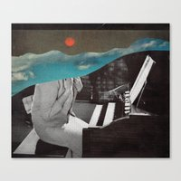 Listen To The Sunset Canvas Print
