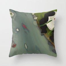 pppanda! Throw Pillow
