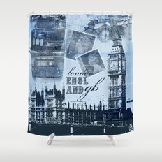 Anglophile Love Shower Curtain