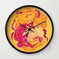 I'm On Fire Wall Clock