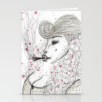 Big Mama Pink Stationery Cards