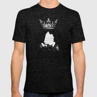 Queen Bee Mens Fitted Tee Tri-Black SMALL