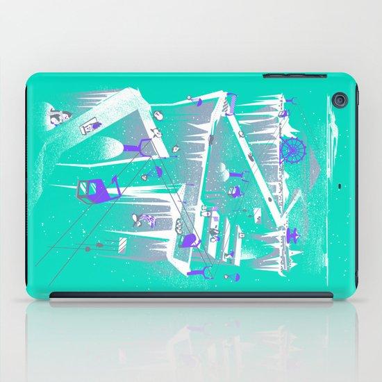 Penguins (flat, palette swap) iPad Case