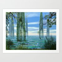 Cathedrals Art Print
