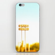 Grand Hotel 2.0 iPhone & iPod Skin