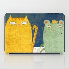 Cat-mouse friendship iPad Case