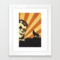 The Wolfman Framed Art Print