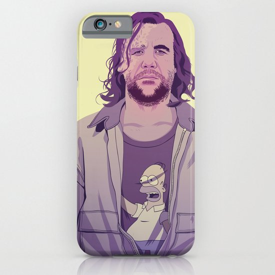 GAME OF THRONES 80/90s ERA CHARACTERS - The Hound iPhone & iPod Case