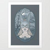 The Wrong Alice Art Print