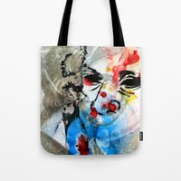 The Face Of The Saint Tote Bag
